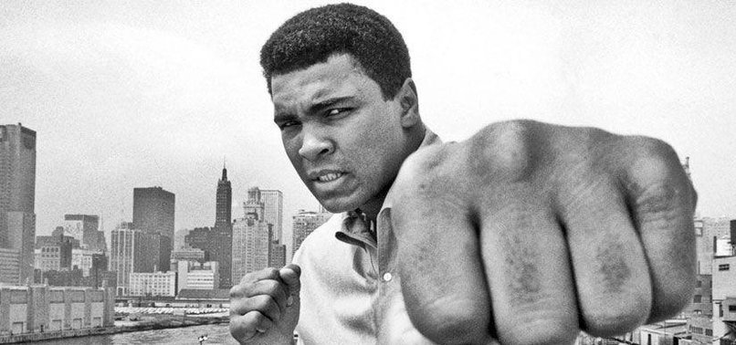 MUHAMMAD ALI FOUGHT THEM ALL AND BEAT THEM ALL