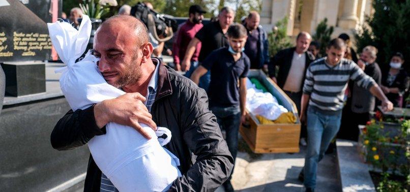 ARMENIAN OCCUPIERS KILL MORE THAN 10 AZERBAIJANI CHILDREN BY ATTACKING CIVILIAN SETTLEMENTS SINCE SEPT. 27