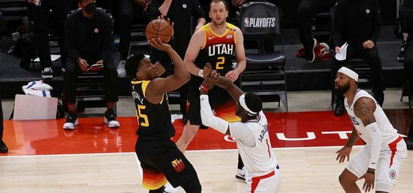 DONOVAN MITCHELL SCORES 37 AS JAZZ GO UP 2-0 ON CLIPPERS