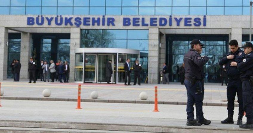 Ankara Büyükşehir Belediyesi'ne gece saatlerinde ateş açıldı
