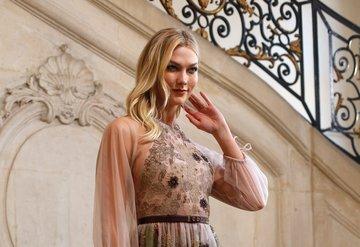 Dior Haute Couture'un ön sıra konukları
