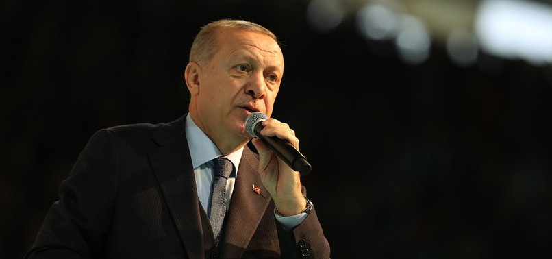 TURKEY WILL SOON CLEAR ALL DAESH REMNANTS OUT OF SYRIA, ERDOĞAN SAYS