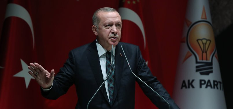 ERDOĞAN SAYS OPERATION PEACE SPRING AIMS TO SEND SYRIAN REFUGEES BACK TO THEIR HOMES