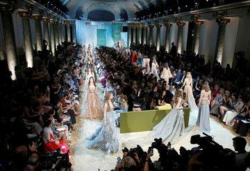 Elie Saab Haute Couture defilesi gerçekleşti