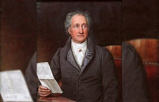 What boosted Goethe's interest in the Prophet Muhammad