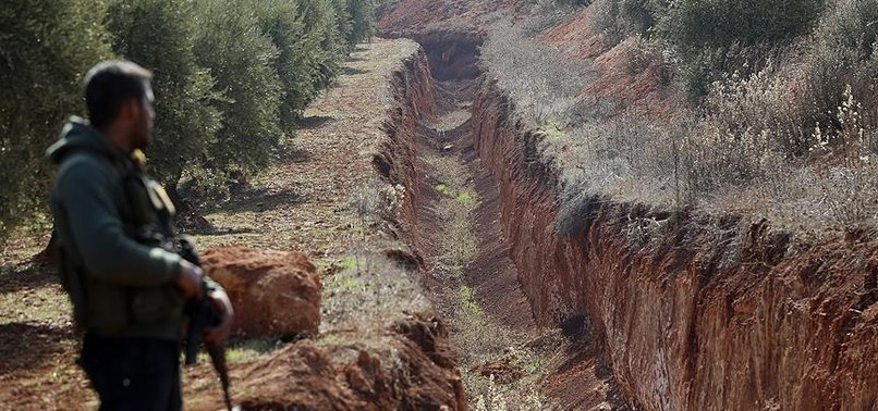 TURKEY MAKES PYD/PKKS 4-KM DITCH IN SYRIA UNUSABLE