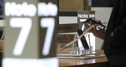 pSamsung Electronics is offering an upgrade programme option to Galaxy Note 7 customers in South Korea who trade in their recalled device for a Galaxy S7 phone, marking its latest attempt to retain...