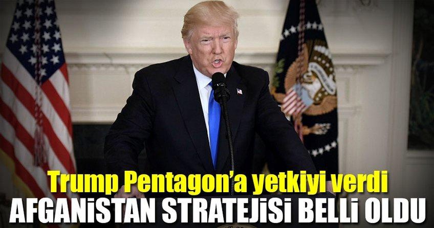 Trump'tan Afganistan kararı