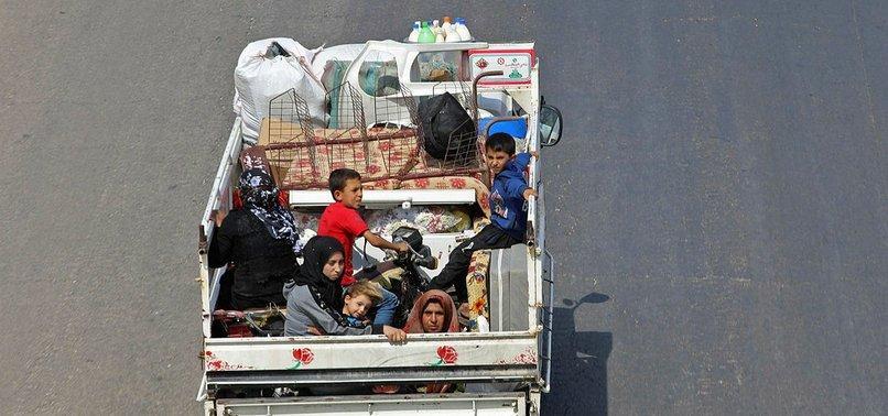 38,500 HAVE FLED SYRIAS IDLIB IN PAST 2 WEEKS AMID INCREASING HOSTILITIES, UN SAYS