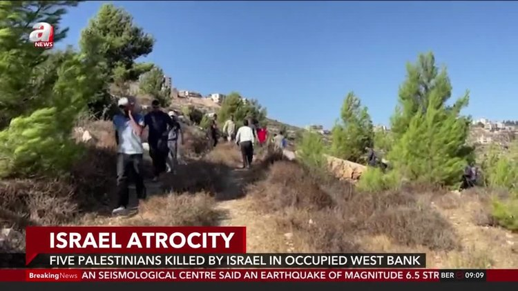 Israel atrocity: At least 5 Palestinians killed by Israel in occupied West Bank