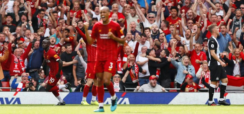 LIVERPOOL RECOVER TO BEAT NEWCASTLE AND MAINTAIN PERFECT START
