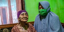 100-year-old Indonesian woman beats coronavirus