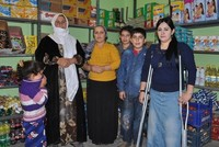 Hüsniye Benek, a 25-year-old disabled girl in Turkey's southeastern province of Şırnak, has been earning a livelihood for her family of six by working at her grocery store for three...