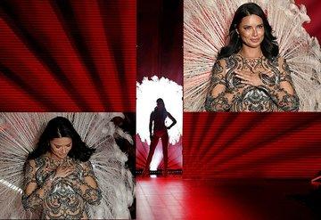 Adriana Lima, Victoria's Secretta son kez yürüdü