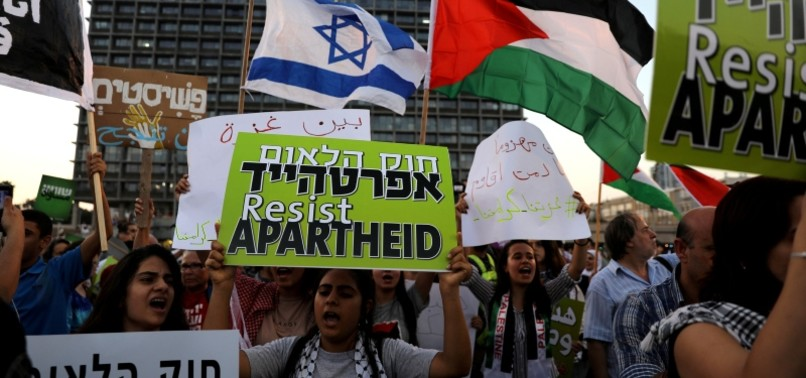 THOUSANDS STAGE FRESH PROTEST AGAINST ISRAELS NEW NATION-STATE LAW
