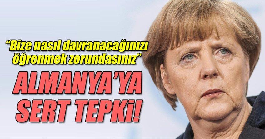 Mevlüt Çavuşoğlu'ndan Almanya'ya: Bizim patronumuz değilsiniz