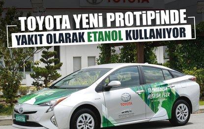 Toyota yeni prototipinde yakıt olarak etanol kullanıyor