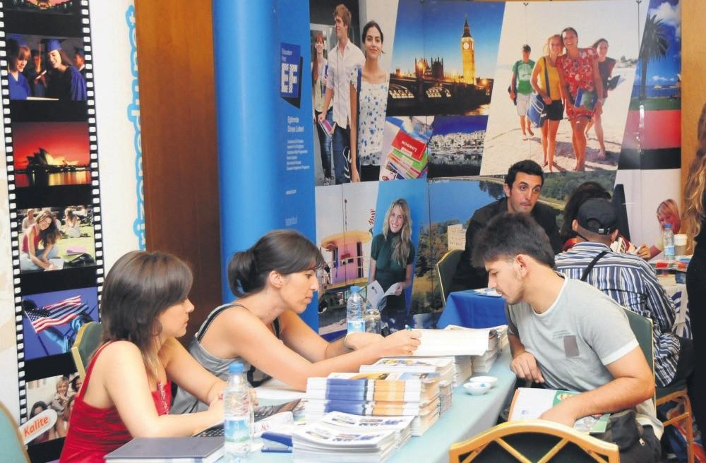 An abroad study fair