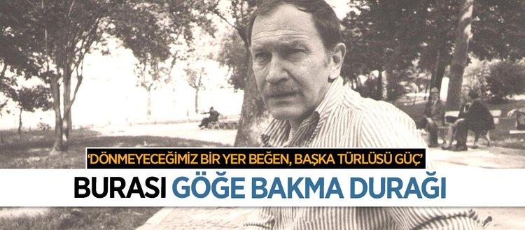 Türk şiirinin bir dönemine damga vuran isim
