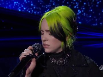 Oscar 2020 Billie Eilish performansı