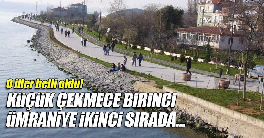 İstanbul'un en çok su tüketen ilçesi belli oldu