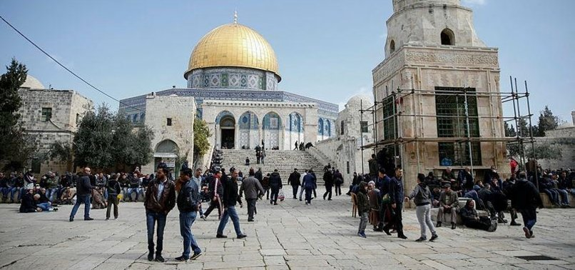 JEWISH SETTLERS STORM AL-AQSA FOR NEW YEAR CELEBRATION
