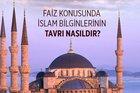 Faiz konusunda İslam bilginlerinin tavrı nasıldır?