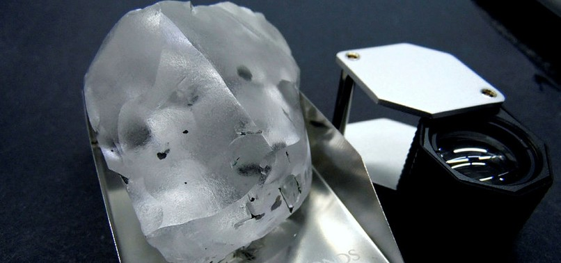 WORLDS FIFTH LARGEST DIAMOND DISCOVERED AT LESOTHO MINE