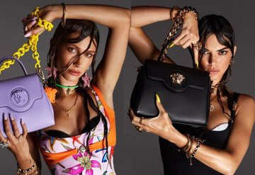 Versace'nin yeni kampanyasının fotoğrafları çok konuşulacak