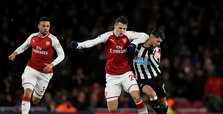 Arsenal up to fourth after beating Newcastle 1-0