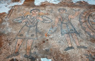 Mosaics belonging to 1600-year-old church unearthed during Mardin excavation