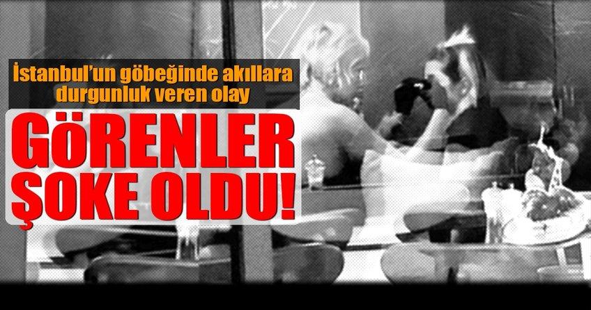 İstanbul'un göbeğinde inanılmaz olay!