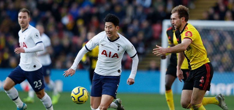 SPURS WINLESS RUN CONTINUES IN DRAW AT ON-FORM WATFORD