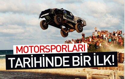 MOTORSPORLARI TARİHİNDE BİR İLK!