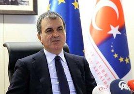 Bakan Ömer Çelik: Türk askerinin Kıbrıs'taki varlığı müzakere edilemez