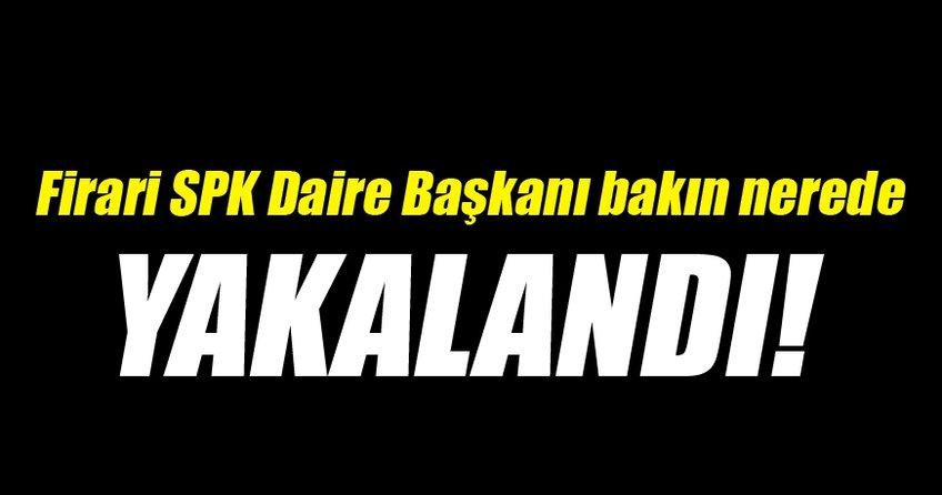Firari SPK eski daire başkanı Bursa'da yakalandı
