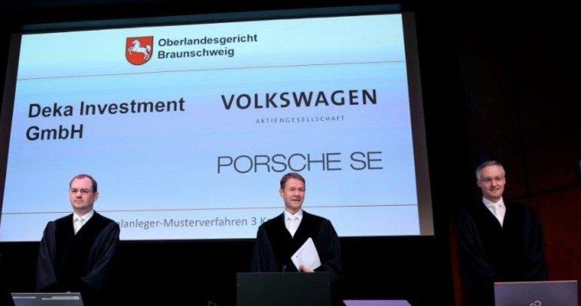 Volkswagen hissedarları tazminat peşinde