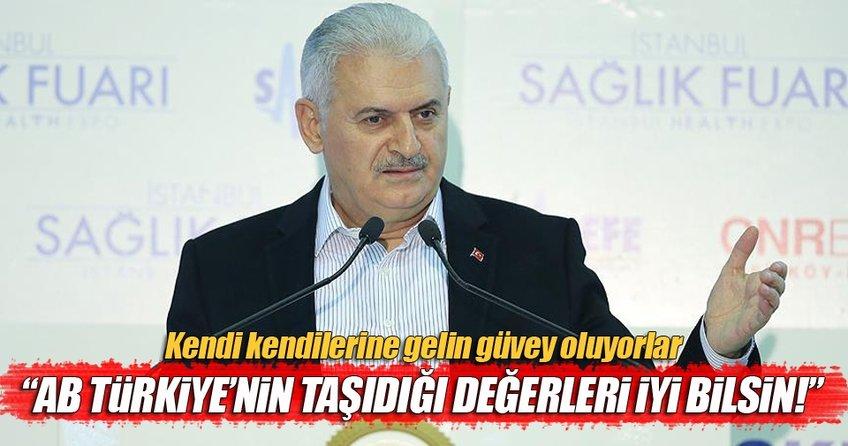 Başbakan Yıldırım'dan AP'nin skandal kararına çok sert tepki
