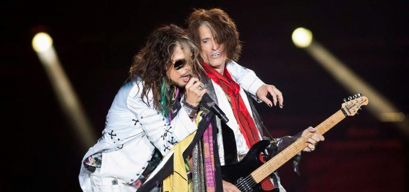 HARD ROCK BAND AEROSMITH HONORED IN MUSICARES EVENT FOR 50-YEAR CAREER