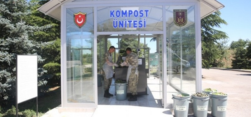 TURKISH MILITARY GOES GREEN, EMBRACES FIRST LADYS ZERO WASTE PROJECT