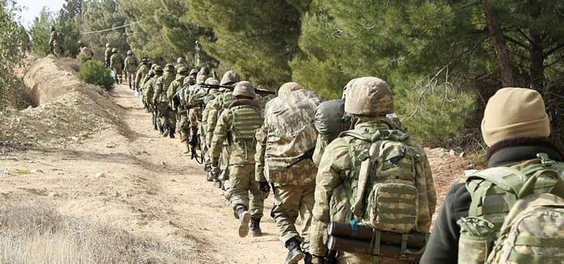 OVER 130 STRATEGIC AREAS FREED FROM TERRORISTS IN SYRIAS AFRIN SINCE BEGINNING OF OPERATION OLIVE BRANCH