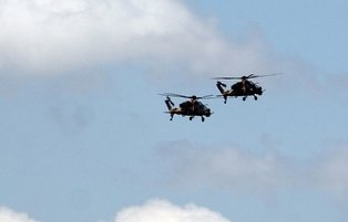 Locally-made helicopters help Turkish forces clear PKK terrorists off northern Iraq