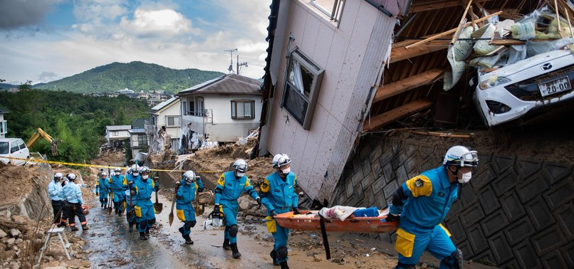 DEATH TOLL REACHES 109 DUE TO LANDSLIDES, FLOODING IN JAPAN