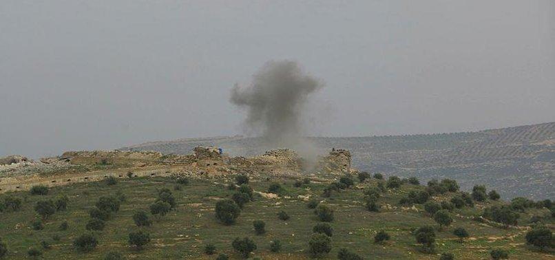 FLEEING PKK/PYD TERRORISTS PLANT EXPLOSIVES IN AFRIN