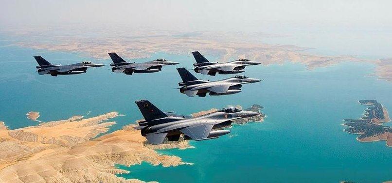 TURKISH JETS DESTROY 18 PKK TARGETS IN NORTHERN IRAQ