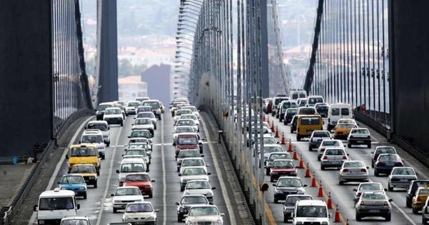 Trafiğe kayıtlı araç sayısı 21 milyona yaklaştı
