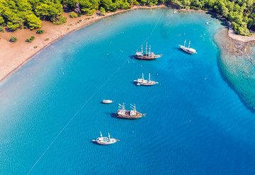 Türkiye'nin en güzel koyları sizi bekliyor