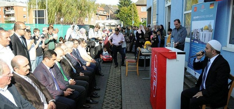 TURKISH GROUP BREAKS GROUND FOR MOSQUE IN GERMANY