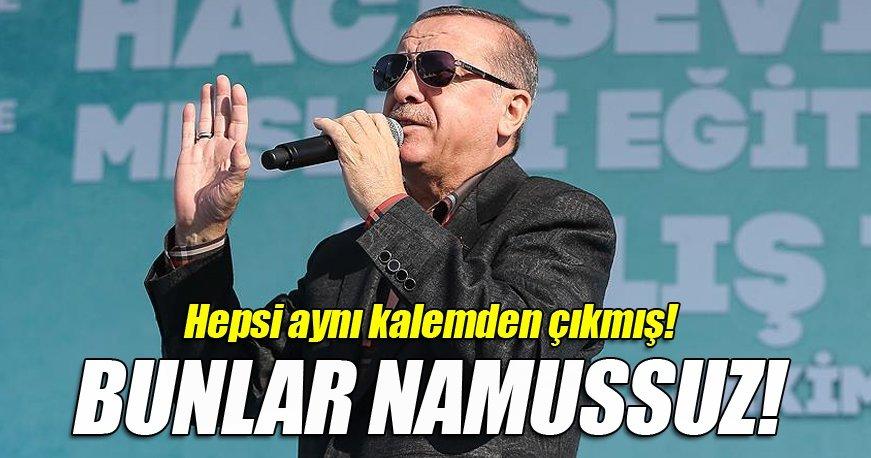Cumhurbaşkanı Erdoğan: Dilekçeler sanki aynı kalemden çıkmış