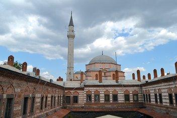 Dört asırlık camiye deprem güçlendirmesi
